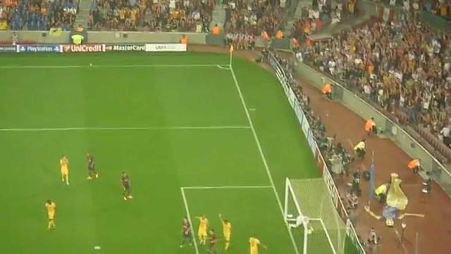 FC Barcelona vs APOEL – Gol Munira ze spalonego/ Munir goal
