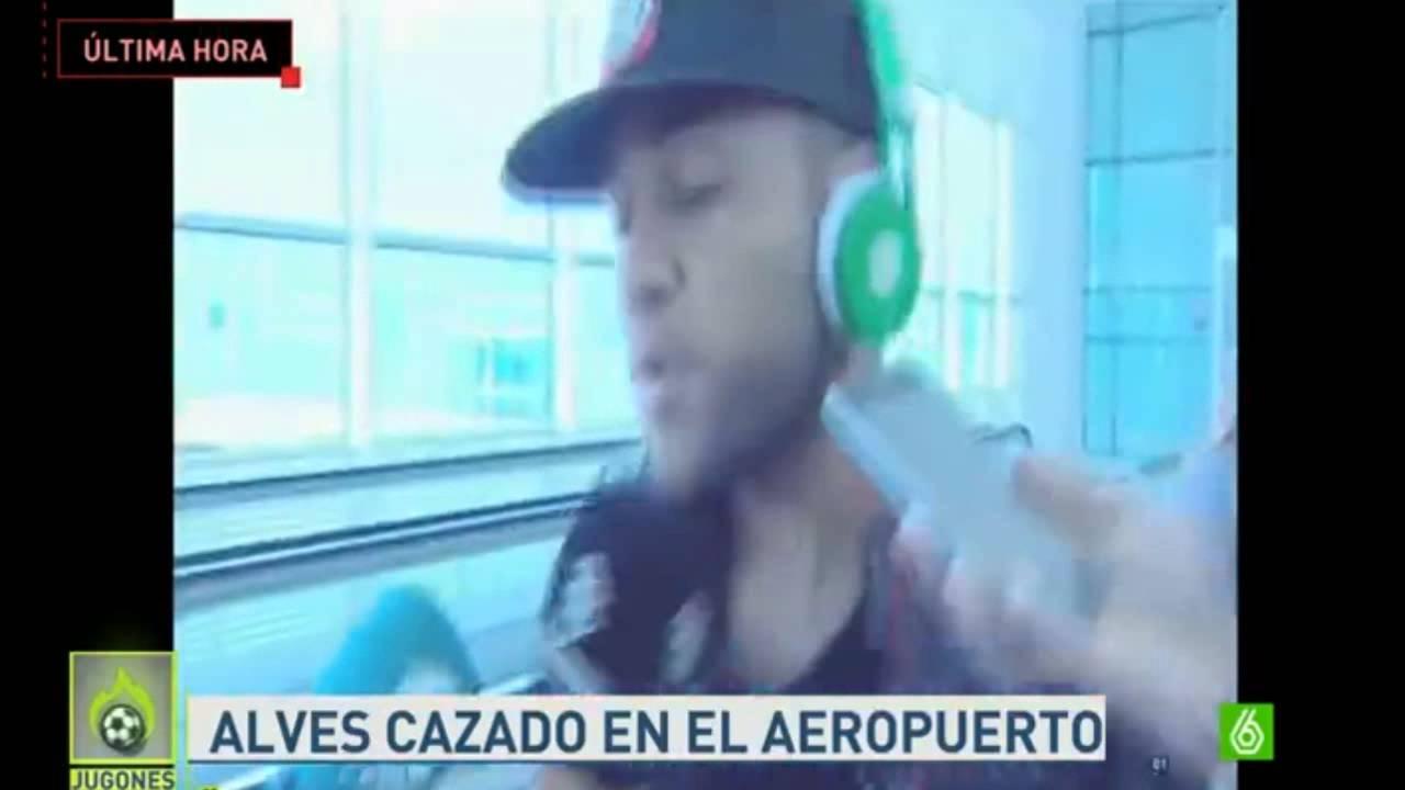 Alves śpiewa dla dziennikarzy