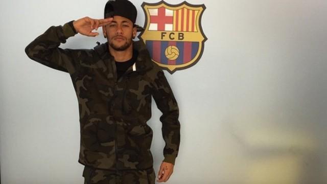 Bojowe nastawienie Neymara