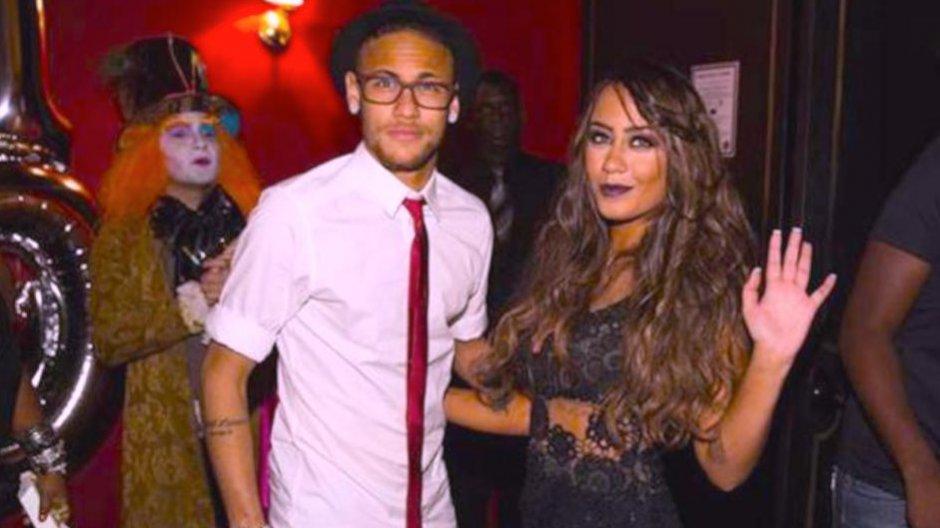 Neymar na imprezie u siostry