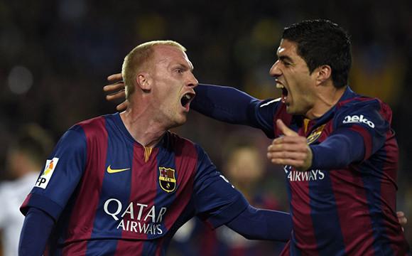 Premierowe gole Mathieu i Suareza