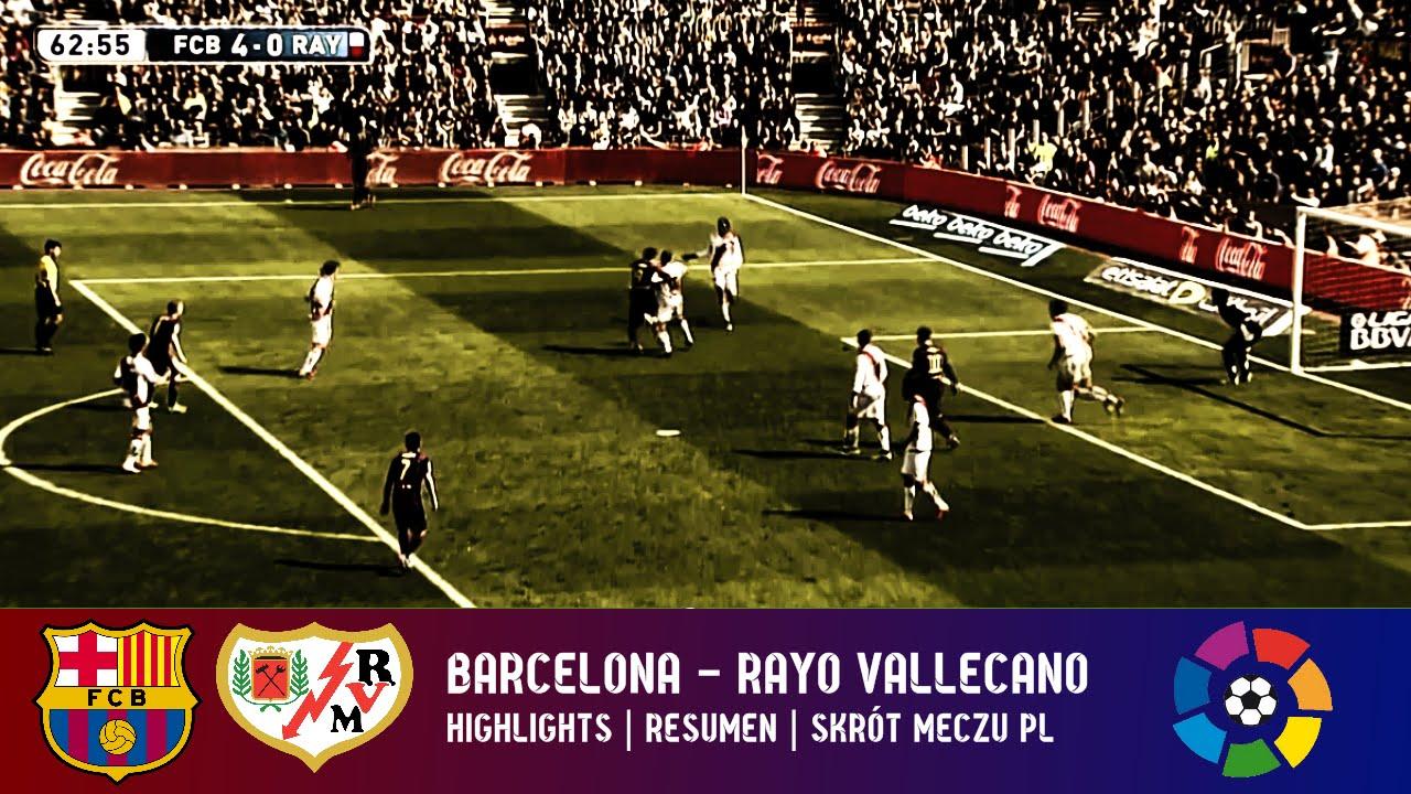 Skrót: FCB – Rayo Vallecano PL