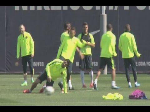 """Suarez """"dostał kopa"""" od Neymara"""