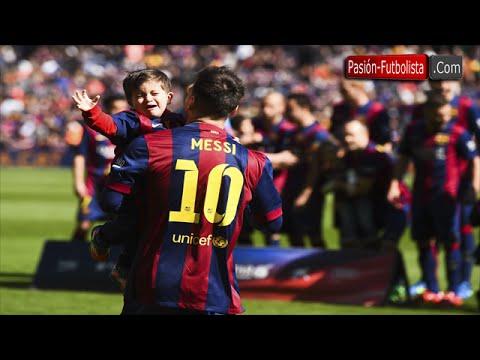 Thiago Messi nie lubi zdjęć