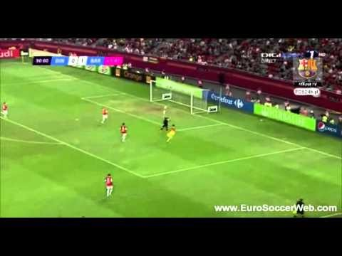 Dinamo Bukareszt VS FC Barcelona – skrót 11.08.2012