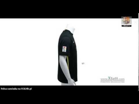 FC Barcelona third skirt 2013/14 presentation