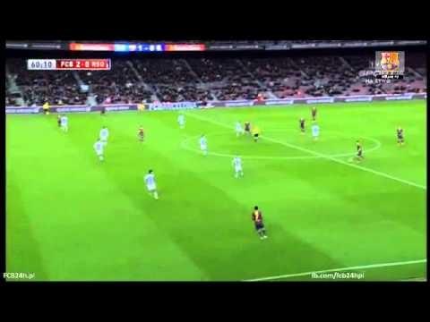 FC Barcelona vs Real Sociedad 2-0 Zubikarai own goal