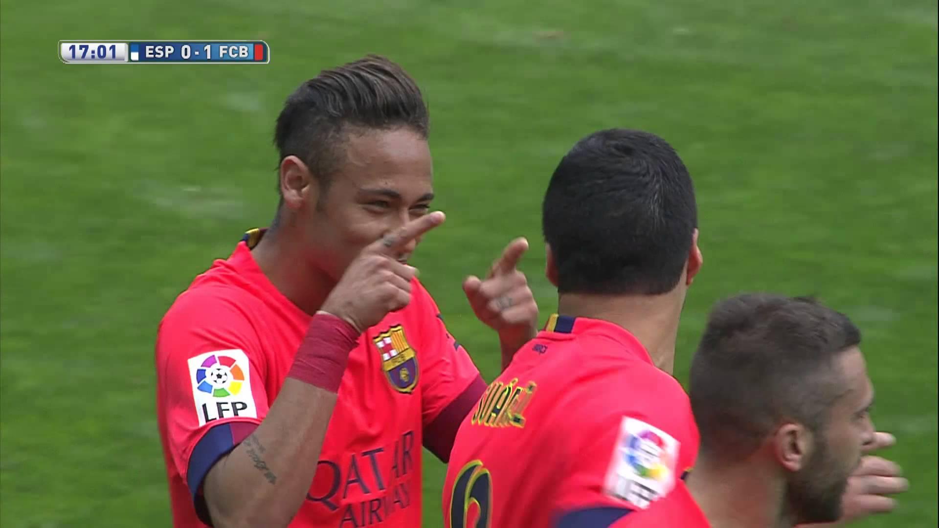 Gol Neymara po wspaniałej akcji