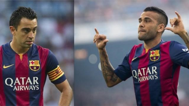 Odejście Alvesa i Xaviego = 24 mln euro