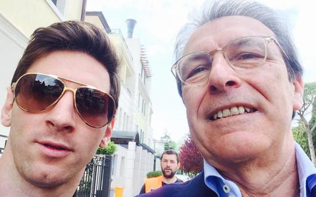 Messi z wizytą we Włoszech