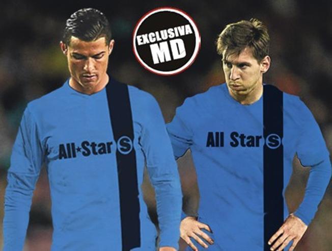 Messi i CR7 w jednym zespole ?