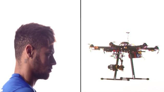 Neymar vs. dron