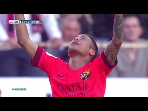 Neymar wreszcie strzela!