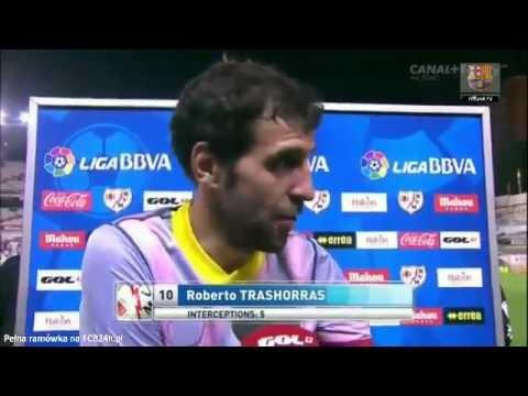 Pedro i Trashorras wywiady po meczu z Rayo / FCB24h.pl