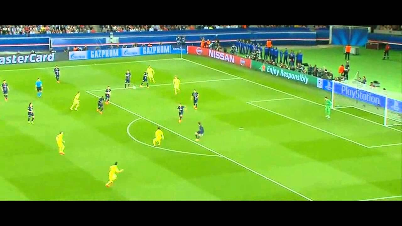 Słupek Messiego z PSG