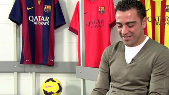 """Xavi: """"Nic nie podpisałem"""""""