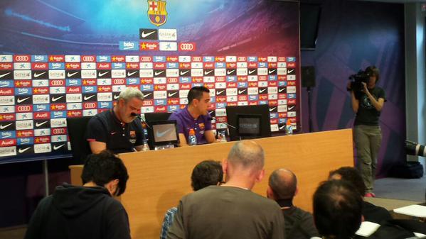 Xavi odchodzi z FC Barcelony