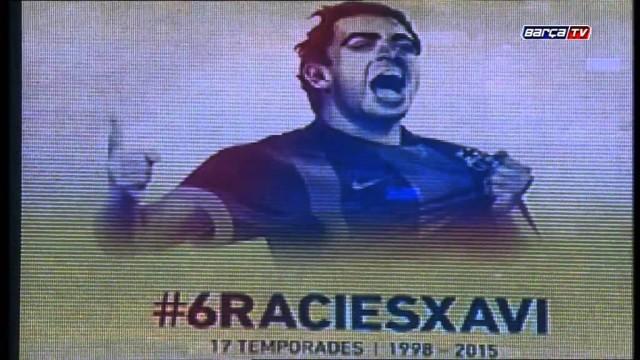 Camp Nou pożegnało Xaviego