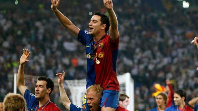 Historia Xaviego w FCB
