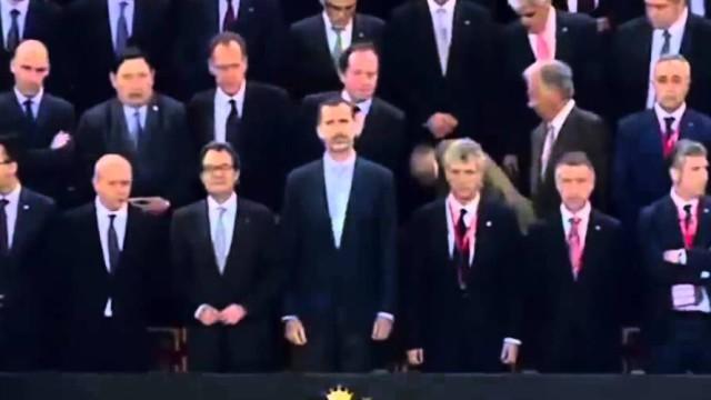 Hymn Hiszpanii ponownie wygwizdany