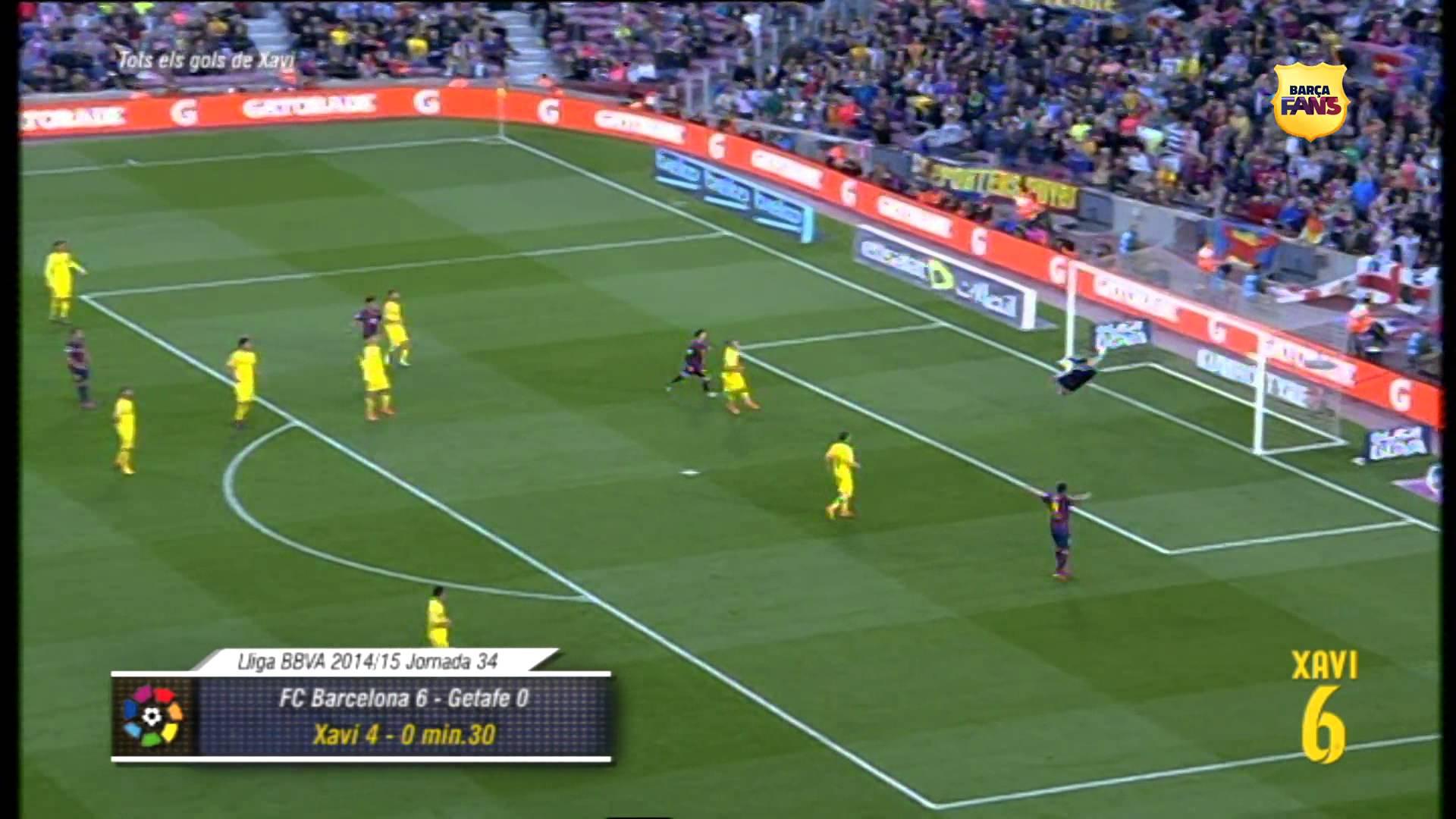 Pierwszy i ostatni gol Xaviego