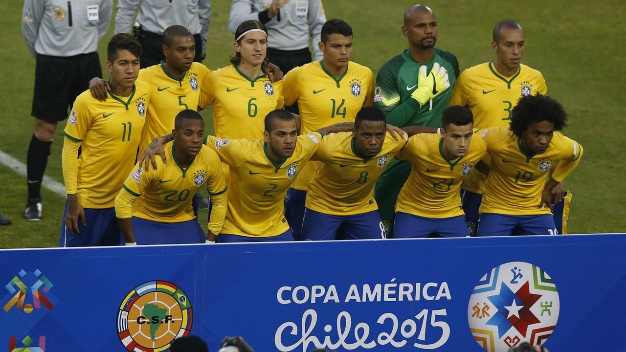 Wygrana i awans Brazylii