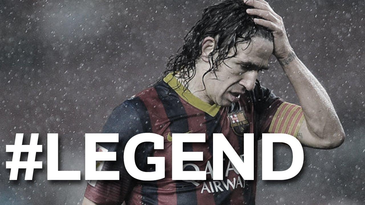 Carles Puyol – #LEGEND