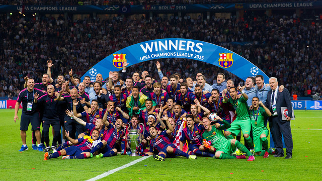 Celebracja zdobycia Pucharu Europy