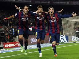 Real gratuluje Barcelonie