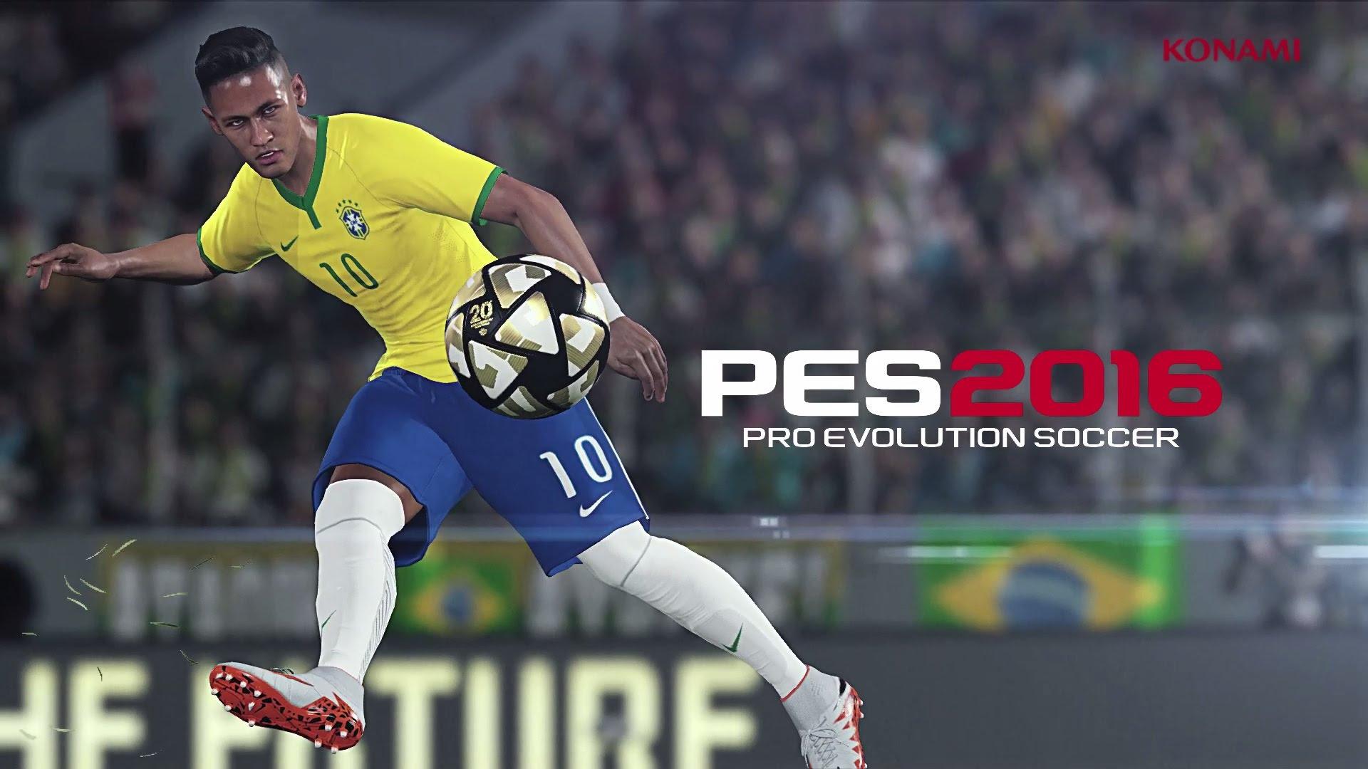 Neymar twarzą PES 2016