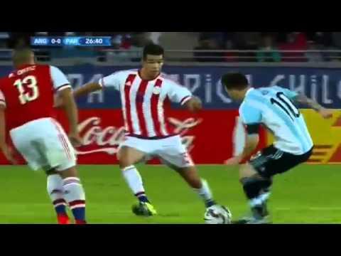 Remis Argentyny, gol Leo
