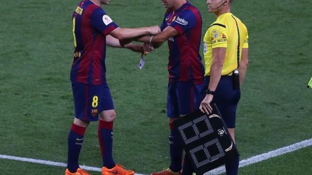 Iniesta może nie zagrać w finale