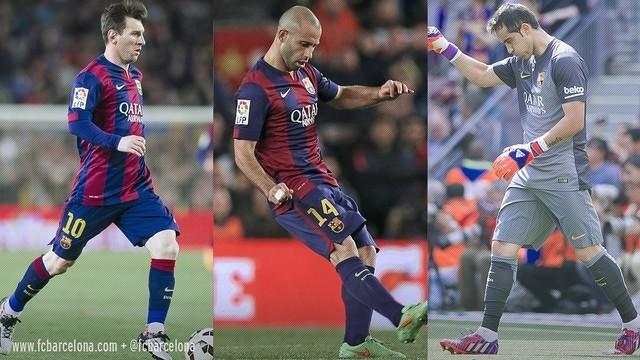 3 Barcelonistów w finale CA
