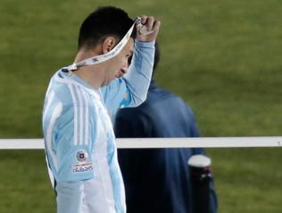 Messi nie przyjął nagrody MVP CA