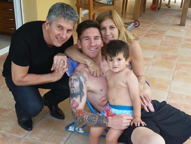 Messi odpoczywa już w Rosario