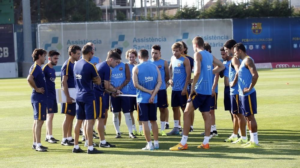 Piłkarze już po pierwszym treningu