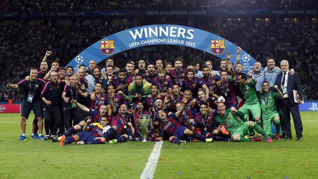 UEFA uhonoruje Barcę