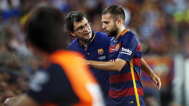 Jordi Alba kontuzjowany