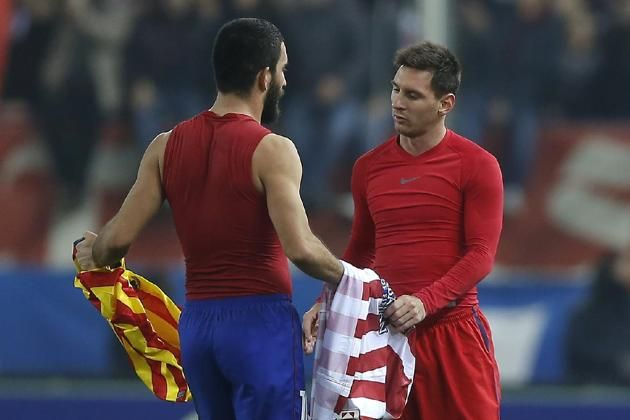 Arda: Messi chciał dać mi 10