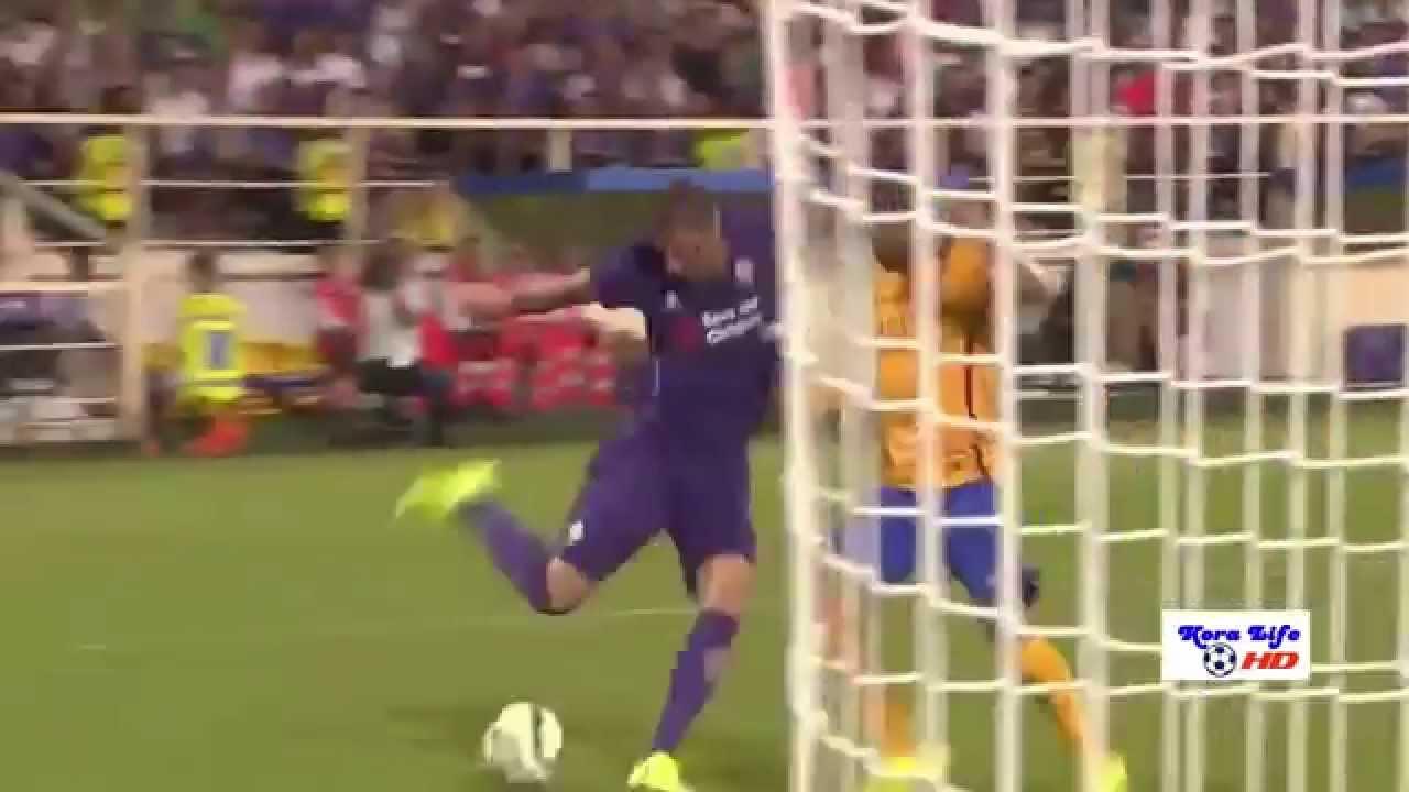 SKRÓT: Fiorentina – FC Barcelona