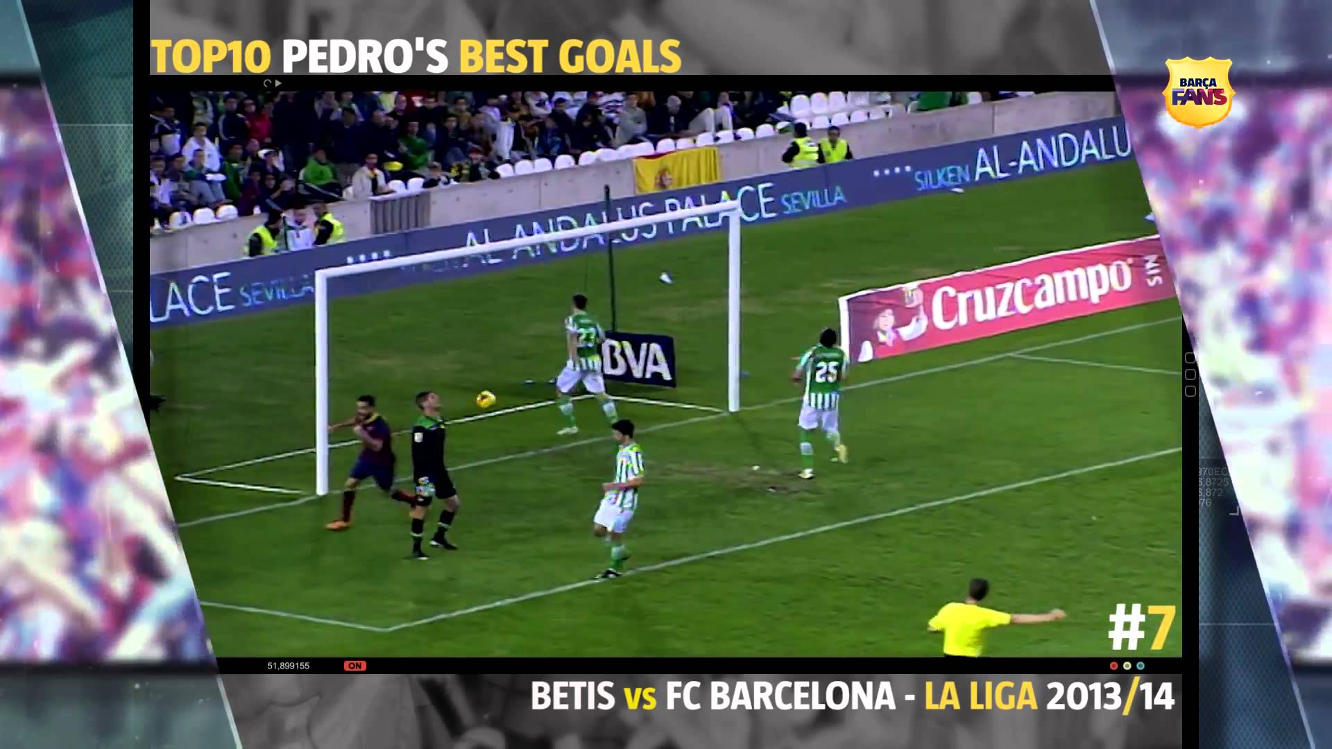 Top 10 goli Pedro w FCB