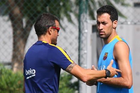 Sergio i Neymar gotowi do gry!