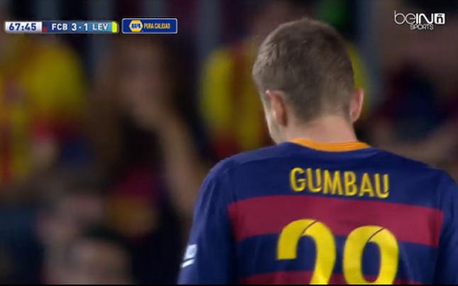 Gumbau debiutuje w lidze