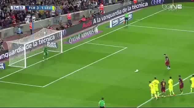 Messi przestrzelił karnego