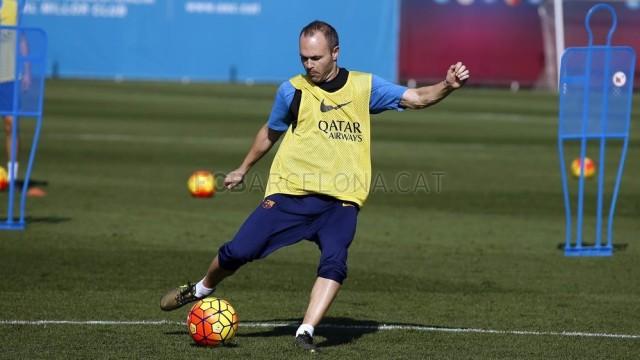 Iniesta i Sergi gotowi do gry!