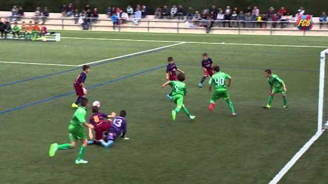 La Masia: Spektakularny gol