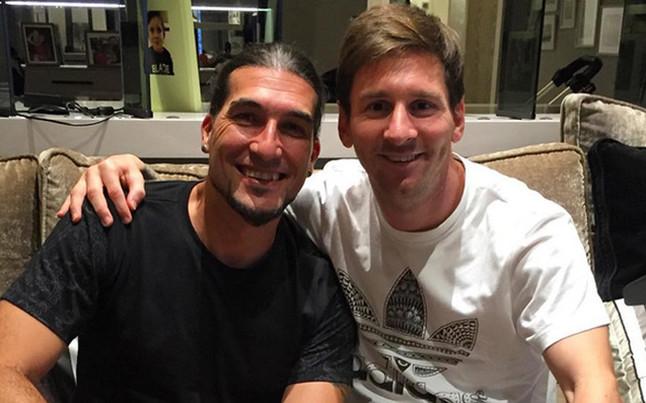Messi spotkał się z Pinto