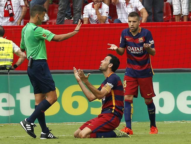 Sergio pierwszy raz kapitanem