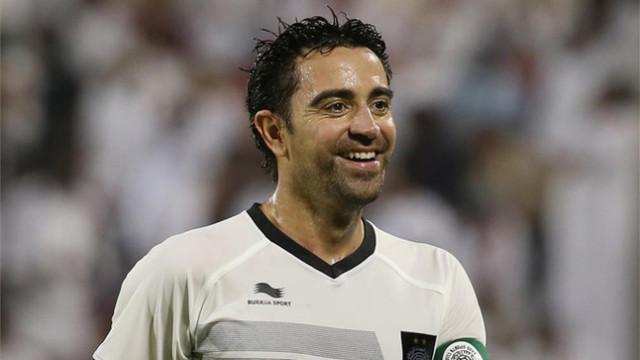Xavi: Chcę wrócić do Barcy