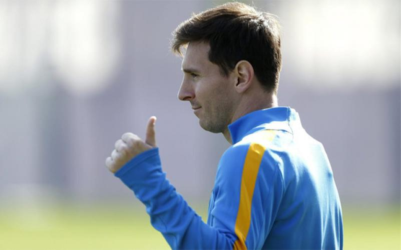 Messi wraca do zdrowia